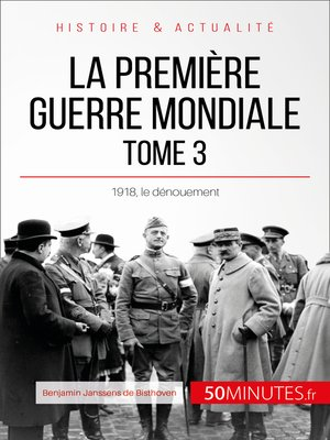 cover image of La Première Guerre mondiale (Tome 3)