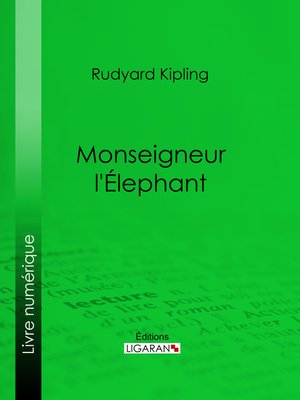 cover image of Monseigneur l'Elephant