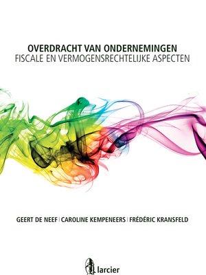 cover image of Overdracht van ondernemingen