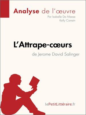 cover image of L'attrape-cœurs de Salinger (Fiche de lecture)