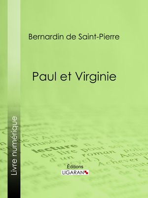 cover image of Paul et Virginie