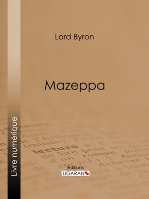 cover image of Mazeppa