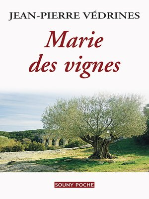 cover image of Marie des vignes