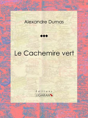 cover image of Le Cachemire vert