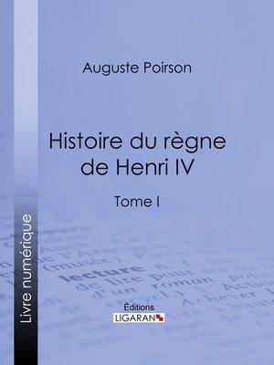 cover image of Histoire du règne de Henri IV