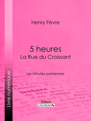cover image of 5 heures