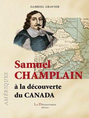 cover image of Samuel Champlain