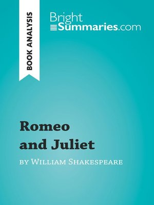cover image of Romeo and Juliet by William Shakespeare (Book Analysis)