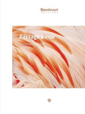 cover image of Passage à vide
