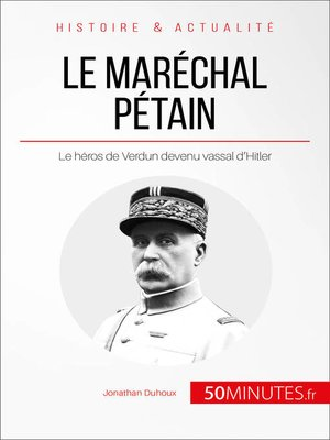 cover image of Le maréchal Pétain