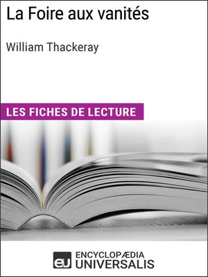 cover image of La Foire aux vanités de William Makepeace Thackeray