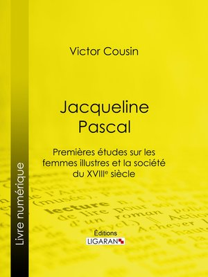 cover image of Jacqueline Pascal