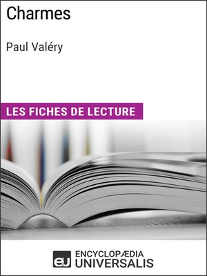 cover image of Charmes de Paul Valéry