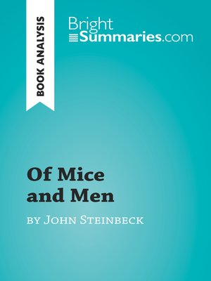 cover image of Of Mice and Men by John Steinbeck (Book Analysis)