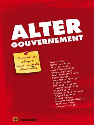 cover image of Altergouvernement