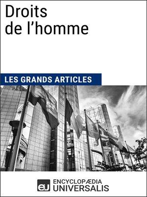 cover image of Droits de l'homme