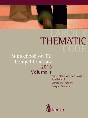 cover image of Sourcebook on EU Competition Law