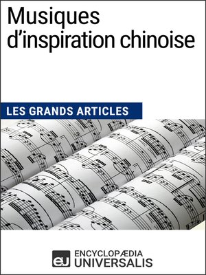cover image of Musiques d'inspiration chinoise