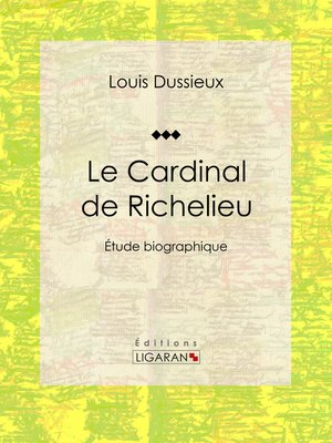 cover image of Le Cardinal de Richelieu