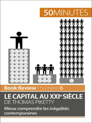 cover image of Le capital au XXIe siècle de Thomas Piketty