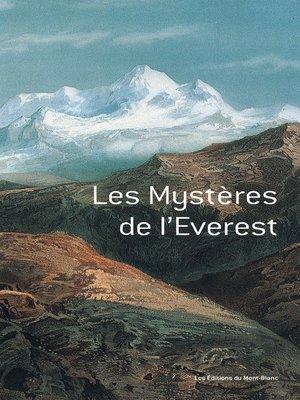 cover image of Les mystères de l'Everest