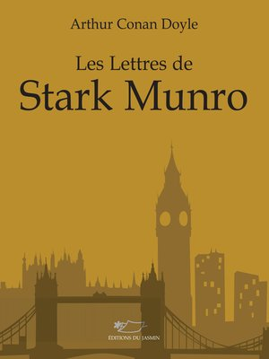 cover image of Les lettres de Stark Munro