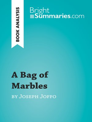 cover image of A Bag of Marbles by Joseph Joffo (Book Analysis)