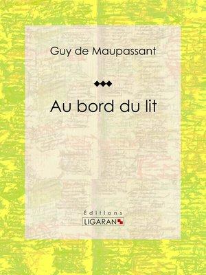 cover image of Au bord du lit