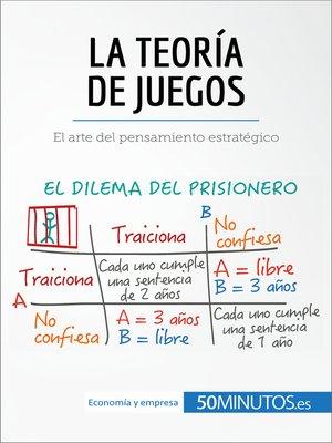 cover image of La teoría de juegos