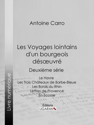 cover image of Les Voyages lointains d'un bourgeois désoeuvré