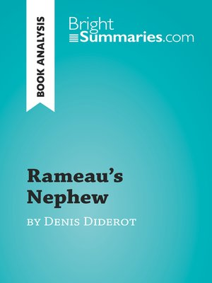 cover image of Rameau's Nephew by Denis Diderot (Book Analysis)