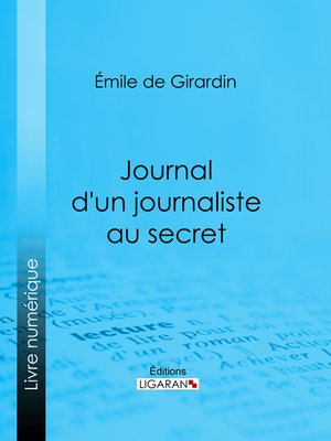 cover image of Journal d'un journaliste au secret