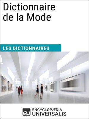 cover image of Dictionnaire de la Mode