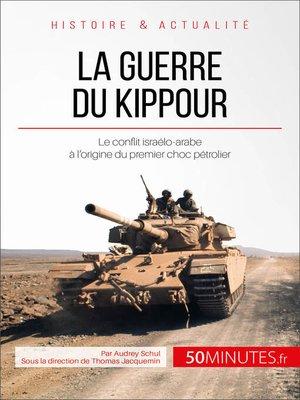 cover image of La guerre du Kippour