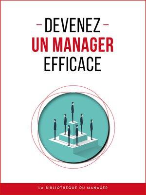 cover image of Devenez un manager efficace