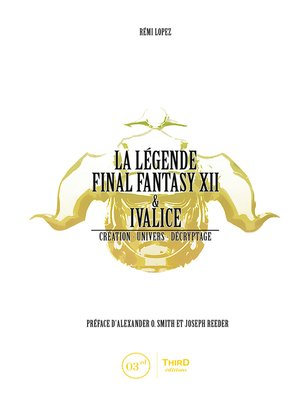 cover image of La Légende Final Fantasy XII & Ivalice