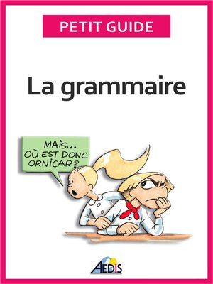 cover image of La grammaire