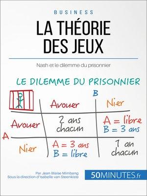 cover image of La théorie des jeux