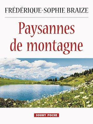 cover image of Paysannes de montagne