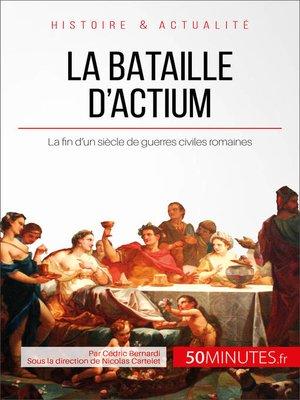 cover image of La bataille d'Actium