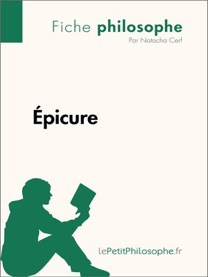 cover image of Épicure--Fiche philosophe