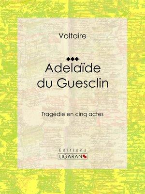 cover image of Adelaïde du Guesclin