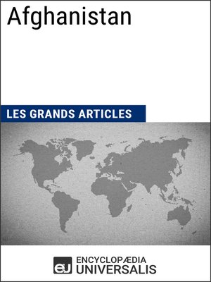 cover image of Afghanistan (Les Grands Articles d'Universalis)