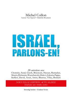cover image of Israël, parlons-en!