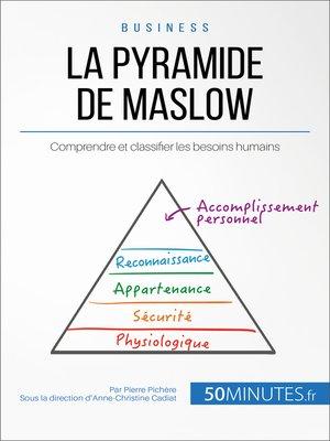 cover image of La pyramide de Maslow