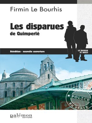 cover image of Les disparues de Quimperlé
