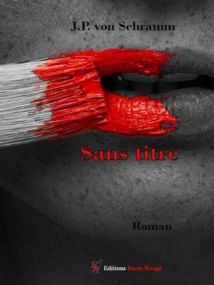 cover image of Sans titre