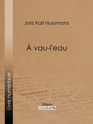 cover image of A vau-l'eau