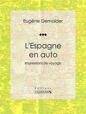 cover image of L'Espagne en auto