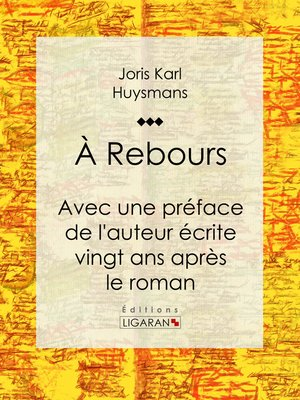 cover image of A Rebours